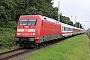 "Adtranz 33114 - DB Fernverkehr ""101 004-0"" 12.09.2021 - Rostock-BramowStefan Pavel"