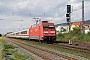 "Adtranz 33129 - DB Fernverkehr ""101 019-8"" 13.08.2013 - Bensheim-AuerbachRalf Lauer"