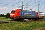 "Adtranz 33131 - DB R&T ""101 021-4"" 10.06.2001 - LengerichHeinrich Hölscher"