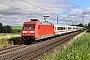 "Adtranz 33131 - DB Fernverkehr ""101 021-4"" 15.07.2021 - Espenau-MönchehofChristian Klotz"