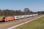 """Adtranz 33138 - DB Fernverkehr """"101 028-9"""" 12.03.2014 - Bardowick-BruchTorsten Bätge"""