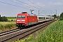 "Adtranz 33206 - DB Fernverkehr ""101 096-6"" 23.07.2021 - Espenau-MönchehofChristian Klotz"