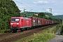 """Adtranz 33341 - DB Schenker """"145 024-6"""" 16.06.2013 - Bonn-BeuelSven Jonas"""