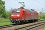 """Adtranz 33341 - DB Schenker """"145 024-6"""" 09.05.2009 - Hamburg-MoorburgJens Vollertsen"""