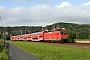"Adtranz 33367 - DB Regio ""145 048-5"" 01.08.2011 - Struppen-StrandDaniel Berg"