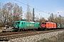 """Adtranz 33367 - DB Schenker """"145 048-5"""" 18.04.2013 - Leipzig-TheklaAlex Huber"""