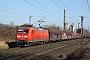 """Adtranz 33367 - DB Cargo """"145 048-5"""" 02.03.2021 - Hannover-MisburgHans Isernhagen"""