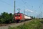 """Adtranz 33820 - DB Schenker """"145 075-8 """" 19.05.2009 - HalleNils Hecklau"""