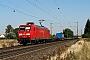"""Adtranz 33820 - DB Schenker """"145 075-8"""" 01.09.2009 - Stockstadt (Rhein)Kurt Sattig"""