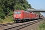 """Adtranz 33820 - DB Cargo """"145 075-8"""" 08.09.2016 - Uelzen-Klein SüstedtGerd Zerulla"""