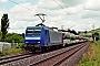 """Adtranz 33844 - ERC.D """"145-CL 201"""" 21.06.2021 - ThüngersheimChristian Stolze"""