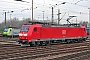 """Bombardier 33589 - Railion """"185 136-9"""" 03.02.2007 - Weil am RheinTheo Stolz"""