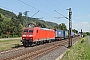 "Bombardier 33642 - DB Schenker ""185 166-6"" 17.07.2014 - Leutesdorf (Rhein)Daniel Kempf"