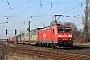 """Bombardier 33691 - DB Schenker """"185 196-3"""" 16.03.2012 - Mainz-BischofsheimKurt Sattig"""