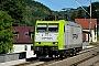 """Bombardier 33723 - Captrain """"185 542-8"""" 01.07.2015 - ObervogelgesangTorsten Frahn"""