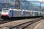 "Bombardier 34327 - Railpool ""186 107"" 06.07.2009 - ErstfeldPeider Trippi"