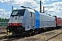 """Bombardier 34327 - Railpool """"186 107"""" 12.07.2009 - StuttgartAlbert Hitfield"""