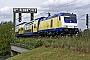 """Bombardier 34345 - metronom """"246 010-3"""" 02.09.2009 Hamburg-Harburg,S�derelbbr�cken [D] Erik K�rschenhausen"""