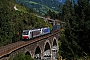 """Bombardier 34468 - Lokomotion """"186 282"""" 28.08.2012 - Bad Hofgastein, Hundsdorfer ViaduktNino Keneder"""