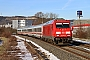 """Bombardier 35217 - DB Fernverkehr """"245 026-0"""" 19.02.2021 - Neue SchenkeChristian Klotz"""