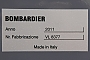 "Bombardier 8377 - KM ""5 170 011-8"" 22.09.2012 - Berlin, Messegelände (InnoTrans 2012)Gunther Lange"