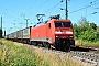 "Krauss-Maffei 20150 - DB Cargo ""152 023-8"" 23.06.2016 - Müllheim (Baden)Kurt Sattig"
