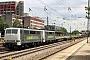 "Krupp 5560 - RailAdventure ""111 222-6"" 24.06.2018 M�nchen,BahnhofHeimeranplatz [D] Theo Stolz"