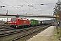 """Siemens 21158 - DB Schenker """"152 075-8"""" 19.02.2010 - Duisburg-Wedau, Haltepunkt EntenfangHugo van Vondelen"""