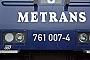 """Siemens 21689 - Metrans """"761 007-4"""" 19.03.2013 Rajka [H] Márk Fekete"""
