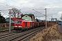 """Siemens 22004 - DB Cargo """"247 906"""" 31.01.2018 Erfurt-Vieselbach [D] Tobias Schubbert"""